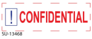 "SU-13468 - 2 Color ""Confidential""<BR> Title Stamp"