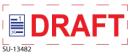 "SU-13482 - 2 Color ""Draft""<BR> Title Stamp"
