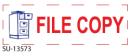 """SU-13573 - 2 Color """"File Copy""""<BR>Title Stamp"""