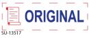 "SU-13517 - 2 Color ""Original""<BR>Title Stamp"