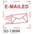 """SU-13694 - Small """"E-Mailed""""<BR>Title Stamp"""