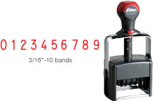 H-6510 - H-6510 Heavy Duty Self-Inking Numberer